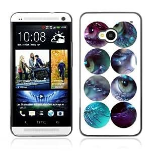Designer Depo Hard Protection Case for HTC One M7 / Eyes