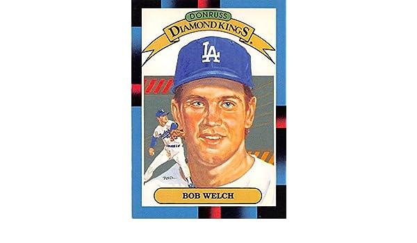 Bob Welch Baseball Card Los Angeles Dodgers Wsc 1988 Donruss 24