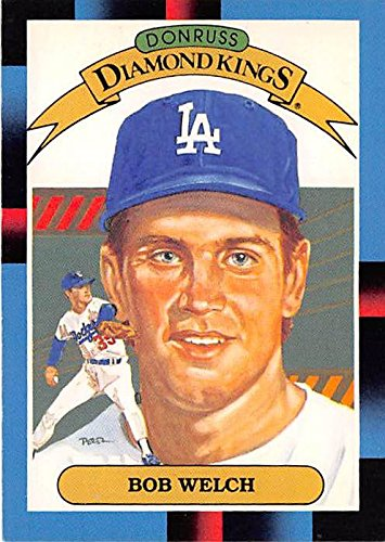 Bob Welch Baseball Card Los Angeles Dodgers Wsc 1988