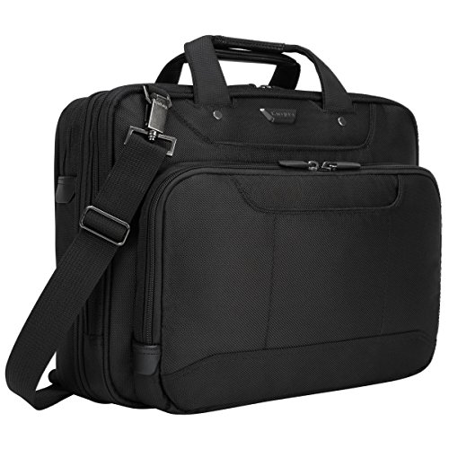 Targus Corporate Traveler Checkpoint-Friendly Traveler Laptop Case for 14-Inch Laptops, Black (CUCT02UA14S) from Targus