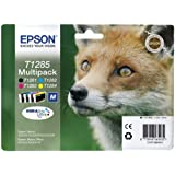4 Epson Stylus Office BX305FW Plus Original Printer Ink Cartridges - Cyan / Magenta / Yellow / Black