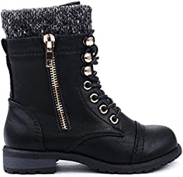 Amazon.com: Combat - Boots / Shoes: Clothing Shoes &amp Jewelry