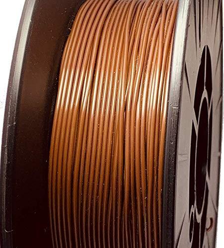Tråd3D 1.75mm PLA 3D Printer Filament compatible for Makerbot 3D Printer Brown 1kg