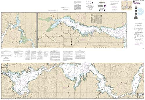 MapHouse NOAA Chart 18687 Lake Mead: 40.85