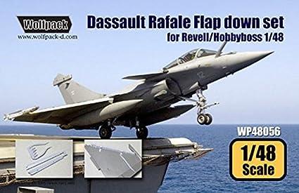 Amazon.com: WOLFPACK 1: 48 Dassault Rafale Flap Set para ...