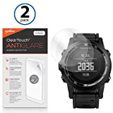 Garmin Tactix Screen Protector, BoxWave [ClearTouch Anti-Glare (2-Pack)] Anti-Fingerprint Matte Film Skin for Garmin Tactix