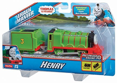 Thomas and Friends Trackmaster Revolution Motorized Engine Trains Mattel Sets Trackmaster Henry-BML10 from Unbranded