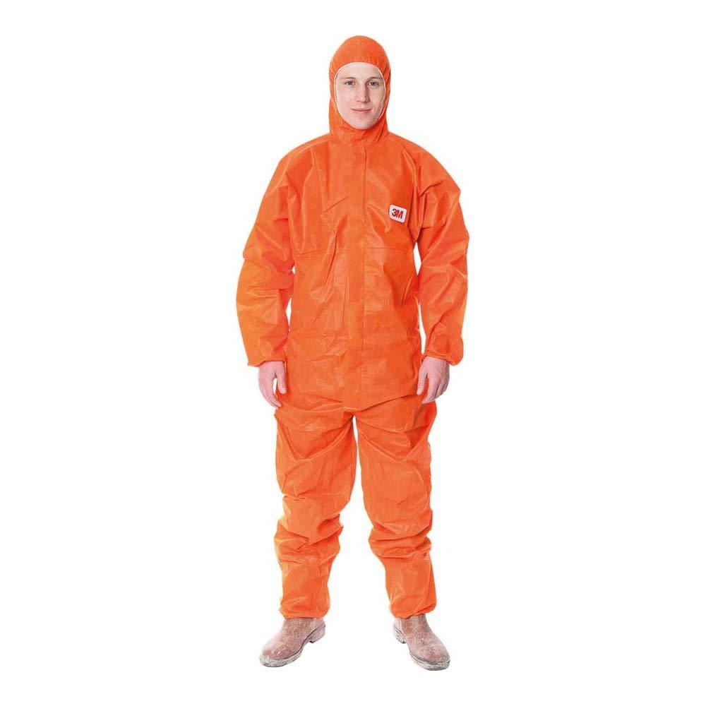 3M P4515NL - 4515 Prenda protección, naranja, tipo 5/6, talla L