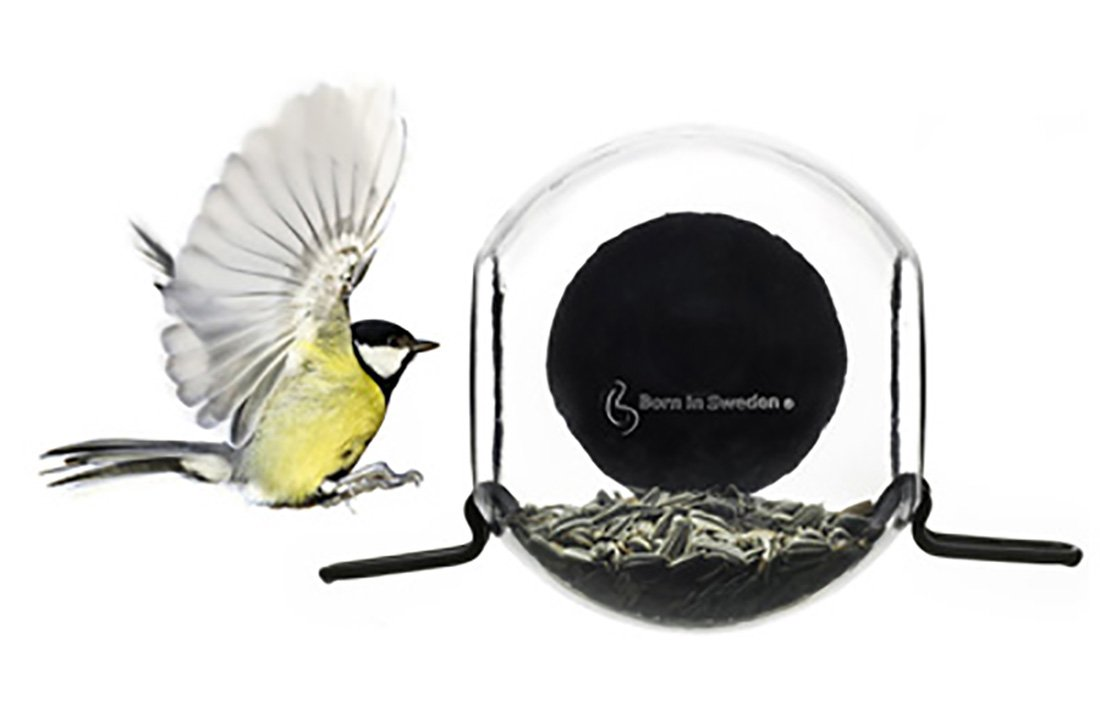 Born in Sweden bird feeder Vogelhaus 7340030