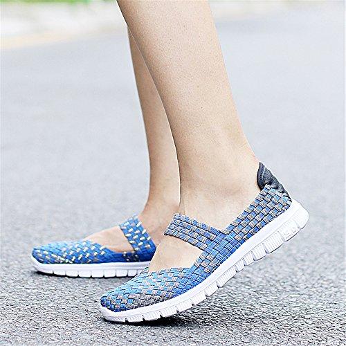 Azul AIRAVATA para SH075 Mujer Zapatillas SwOfUxIzq