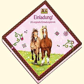 Coppenrath 9669 Pferdefreunde Einladung!   20 Originelle Einladungsbriefe