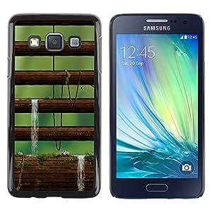 Exotic-Star ( Nature Moss Tree ) Fundas Cover Cubre Hard Case Cover para Samsung Galaxy A3 / SM-A300