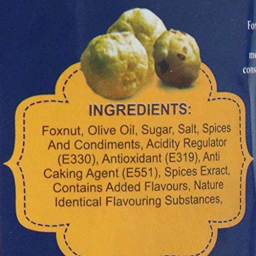 WONDERLAND FOODS (DEVICE) Roasted Makhana Jalapeno Foxnuts, 100 g