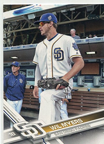 2017 Topps #459B Wil Myers short print sunglasses on - - Myer Sunglasses