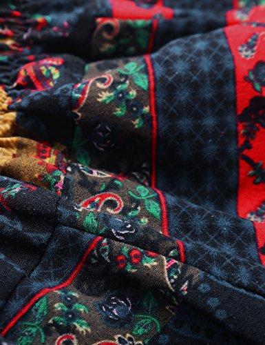 Dark Trousers 01 Gypsy 100 Baggy Harem Women Blue Hippy Pants Boho Cotton Men BaiShengGT Aladin w7TCpqaa