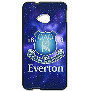 Unique Design FC Everton Football Club Phone Case Cover For Htc One M7 3D Plastic Phone Case