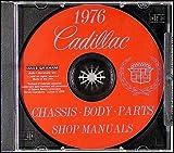 1976 Cadillac Repair Shop Manual and Body Manual on CD-ROM