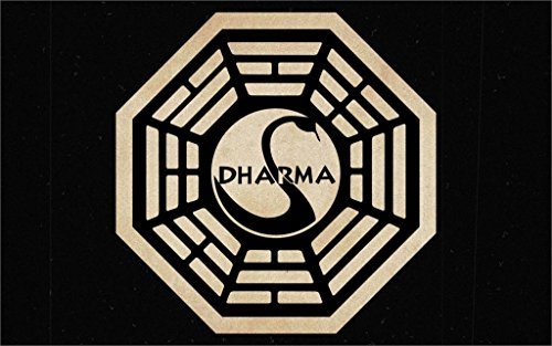 Da Bang Lost Dharma Initiative The Sign 20X30 Inch Poster Print