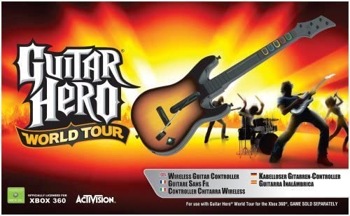 Activision Guitar Hero - Volante/mando (Xbox 360, Guitarra, Xbox ...