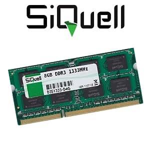 SiQuell - Memoria interna RAM DDR3 de 8GB y 1333 MHz (PC3-10600)