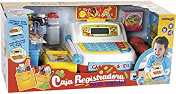 IMITOYS Caja Registradora Luces y Sonidos: Amazon.es: Juguetes y juegos