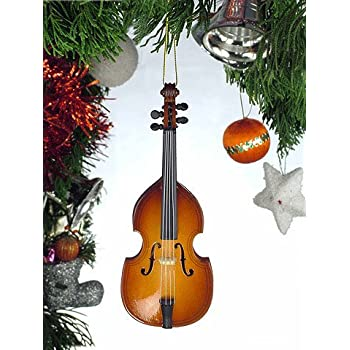 Wooden Violin Music String Instrument Christmas Tree Ornament OV12 Broadway  Gifts Christmas gift store - Wooden Violin Music String Instrument Christmas Tree Ornament OV12
