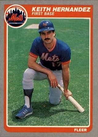 Amazoncom 1985 Fleer Baseball Card 85 Keith Hernandez