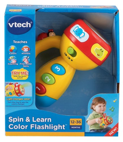 VTech Spin and Learn Color Flashlight