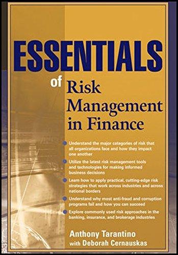 Essentials of Risk Management in Finance
