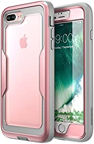 i-Blason Magma Series Case for iPhone 8 Plus 2017/iPhone 7 Plus, Heavy Duty Protection Full Body Bumper Case w