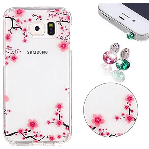 Pershoo Samsung Galaxy S7 Phone Case, Pershoo Galaxy S7 Colorful Printing Sakura Flowers Phone Case, Ultra Thin Sales