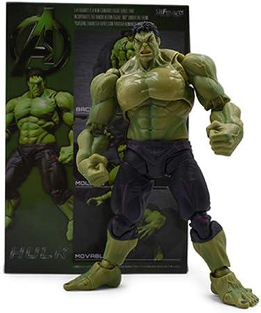 CHANG Marvel The Avengers 4 Hulk Modelo De Articulación Móvil Figura De Acción Juguete En Caja Niños,OneSize: Amazon.es: Hogar