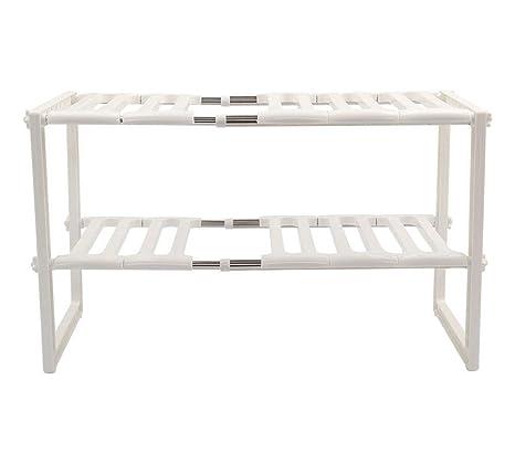Groovy Amazon Com Keraiz Adjustable Stackable Kitchen Rack Pool Lamtechconsult Wood Chair Design Ideas Lamtechconsultcom