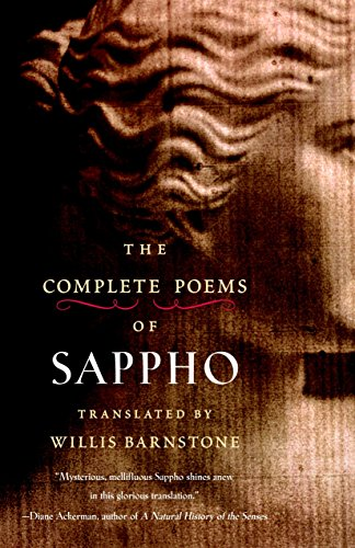 The Complete Poems of Sappho by Barnstone, Willis (TRN)