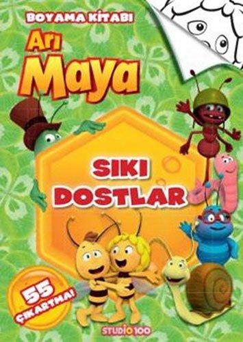 Siki Dostlar Ari Maya Boyama Kitabi Collective 9786050934380
