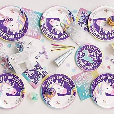 Purple unicorn Bubble Wands pack of 8 NEW