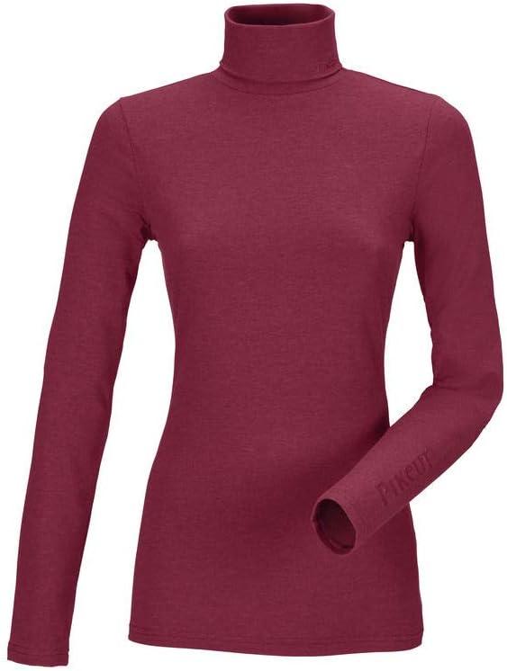 Pikeur De Base Sina Polo Cou pour Femme Rouge Vif