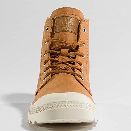 Palladium Unisex-Erwachsene Pampa Hi Leather Unlined Hohe Sneaker apricot-birch (75750-229)