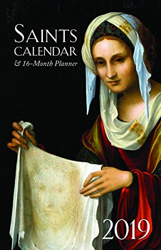 2019 Saints Calendar & 16 Month Daily Planner ()