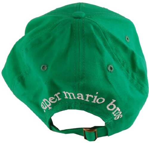 3692569cdd22b Super Mario Brothers Luigi Green Baseball Cap - Buy Online in UAE ...