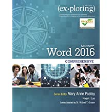 Exploring Microsoft Word 2016 Comprehensive
