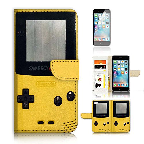 ( For iPhone 7 Plus ) Flip Wallet Case Cover and Screen Protector Bundle A20276 Video Game