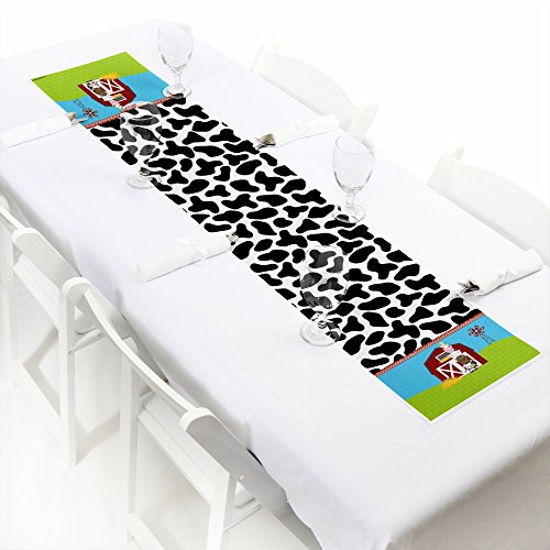 """UPC 849563050981, Farm Animals - Petite Baby Shower or Birthday Party Paper Table Runner - 12"""" x 60"""""""