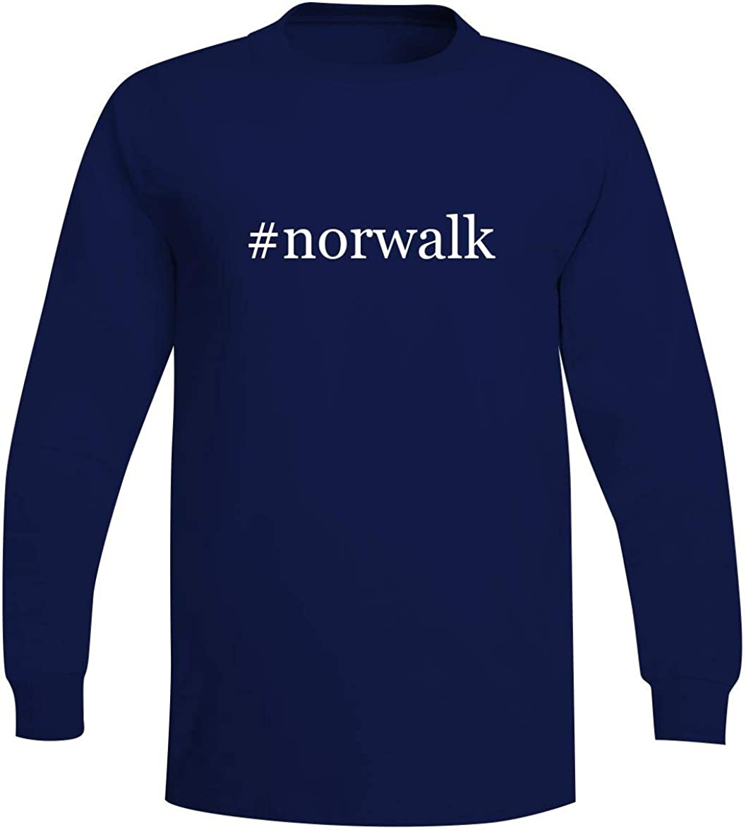 The Town Butler #Norwalk - A Soft & Comfortable Hashtag Men's Long Sleeve T-Shirt