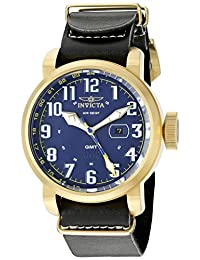 Invicta Men's 18889 Aviator Analog Display Swiss Quartz Brown Watch