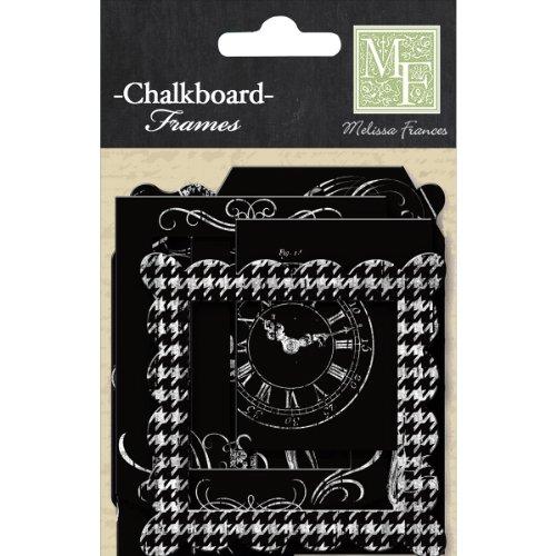 Melissa Frances DS002 Chalk Talk Paper Frame, 12-Pack
