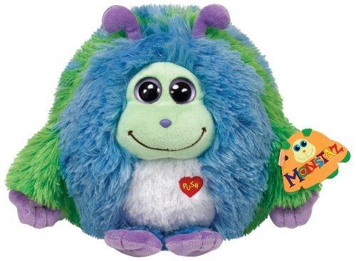 TY Monstaz Benny Plush Toy ,ブルー/グリーン, Medium by Ty Monstaz B01LWALLUT