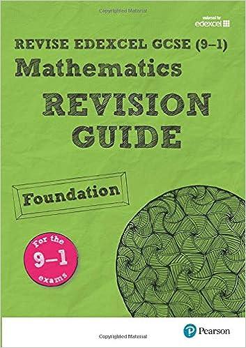 REVISE Edexcel GCSE 9-1 Mathematics Foundation Revision