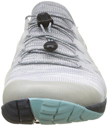 Merrell Trail Glove 4 Knit, Zapatillas de Running Para Asfalto Para Mujer Gris (Vapor Vapor)