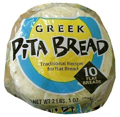 Pita Bread,10 count (Grecian Delight)